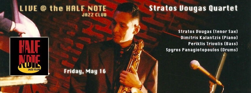 Half Note Jazz Club - May, Friday 16